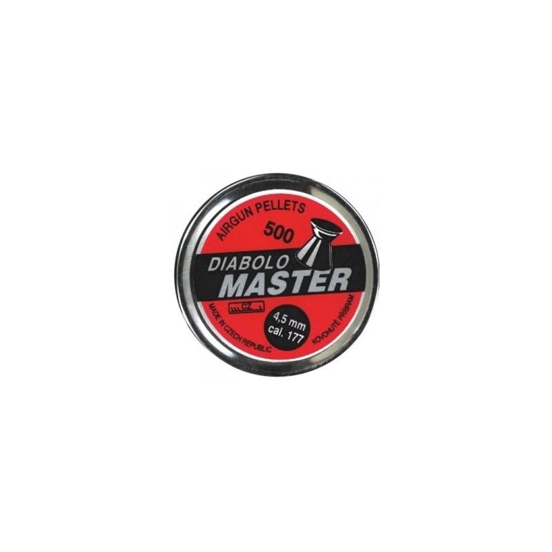 BALINES DIABOLO MASTER CALIBRE 4.5 (.177)