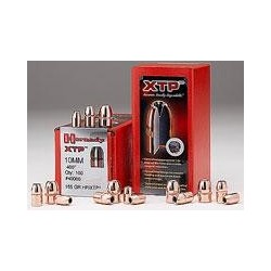 PROYECTIL HORNADY HP/XTP CALIBRE 9mm (.357) 100 UNIDADES