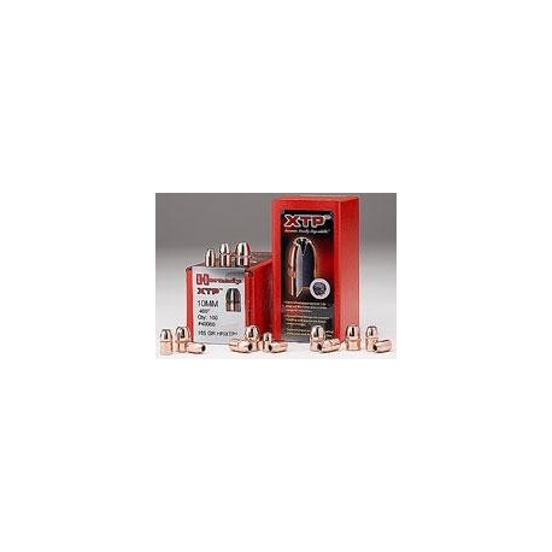 PROYECTIL HORNADY HP/XTP CALIBRE 9mm (.357) 100 UNIDADES