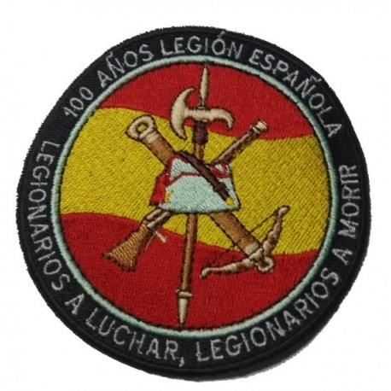 PARCHE BORDADO CENTENARIO DE LA LEGION