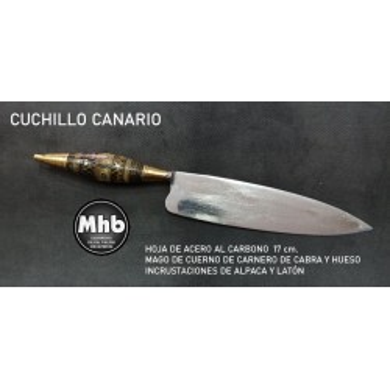 CUCHILLO CANARIO