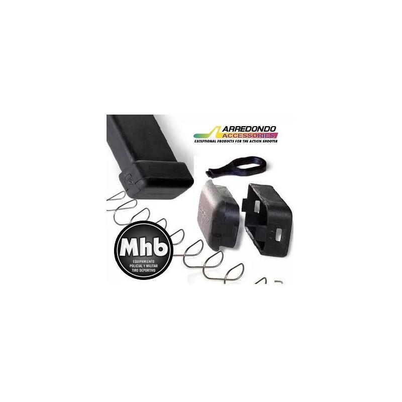 BASE CARGADOR GLOCK +4/3 ARREDONDO GLK3 Cal.9X19/.40