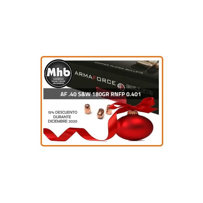 Puntas Cal. 40/10mm-180-RNFP Cob 250 uni Armaforce