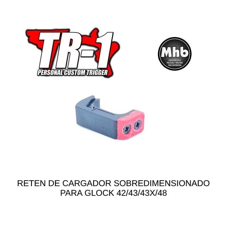 RETEN CARGADOR GLOCK GEN4/5 ROJO-NEGRO TR-1 ®